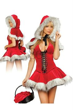 fe5edd187 Passion Festival Wraps Red Sexy women christmas costumes ladies santa strap  corset outfit party lingerie dress