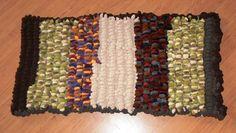 Crochet RUG recycling ART