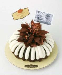 Pick up a people pleasing dessert that could pass as Grandma's at new Nothing Bundt Cakes. Nothing Bundt Cakes, Round Cakes, Bite Size, Special Occasion, Deserts, Place Card Holders, Fall, Holiday, Bliss