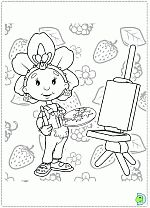 Fifi and the Flowertots coloring pages- DinoKids.org