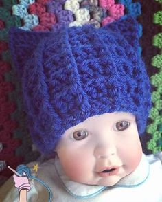Did you see my newest pattern, the Crochet Royal Cat Hat newborn sizing is free to view on my blog. http://dearestdebi.com/crochet-royal-cat-hat