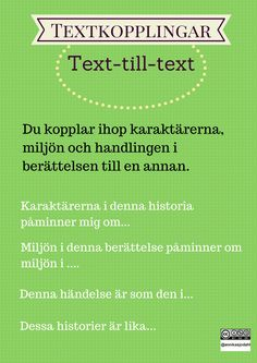 Text-till text Classroom Tools, Digital Storytelling, Aktiv, Children's Literature, Teaching Materials, Stories For Kids, Teaching English, Creative Writing, Leadership