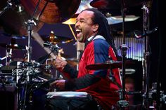 One of the pleasures of seeing the Dave Matthews Band is vibing off Carter Beauford's energy