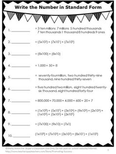 FREE Place Value No Prep Worksheet - This worksheet is a sampler of our 44 page no prep place value packet to help your students practice place value concepts. An answer key is also provided.