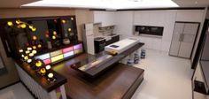 fusion style kitchen