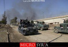 مع اقتراب هزيمتهم بالموصل.. عناصر من تنظيم الدولة يلقون بأنفسهم بنهر دجلة