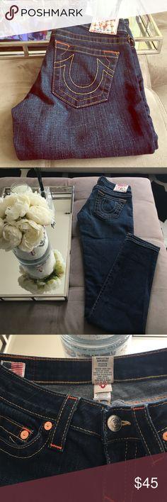 True Religion jeans!! Like new! Worn once! True Religion Jeans Straight Leg