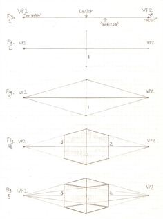 Perspective Tutorial: 1 by GriswaldTerrastone on deviantART – Art Drawing Tips Basic Drawing, Technical Drawing, Drawing Tips, 2 Point Perspective Drawing, Perspective Art, 3d Drawing Tutorial, Sketches Tutorial, Architecture Drawing Sketchbooks, Art Basics