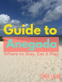 Things to Do on Anegada, BVI + Where to Stay and Eat - Hulaland