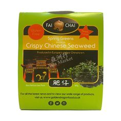 Golden Dragon Fai Chai Crispy Chinese Seaweed 60g