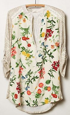pretty little floral top - extra 25% off with code EXTRAEXTRA #anthrofave http://rstyle.me/n/rz85hr9te