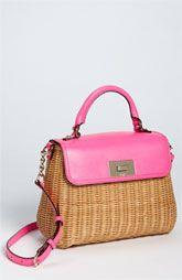"Kate Spade New York ""Little Nadine"" Satchel | Great summer bag, no?"