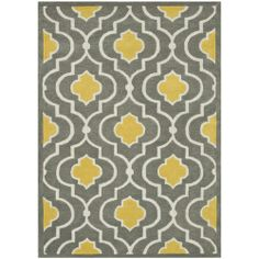 Loloi Rugs Brighton Gray & Gold Hand Tufted Wool Rug