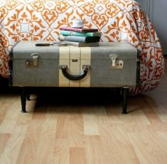 Upcycled: Antique Suitcase Table