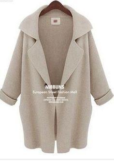 Fashion Female cardigan women jacket autumn Cocoon coat winter cardigans for women coats spring poncho pull femme vodolazka