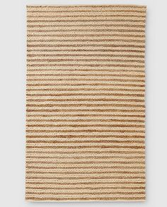 Our handwoven rug is crafted using a very special blend of fibers that combines natural jute with cotton and wool, and the result is wonderfully comfortable for kids and families to sit and play on. An effortless way to bring a natural element to any room and any color scheme.   <br>•Wool/cotton/jute weave <br>•Handwoven  <br>•Imported <br>•Sorry, not available for international shipping or gift boxing <br>•Additional $10 to ship 5' x 8' size