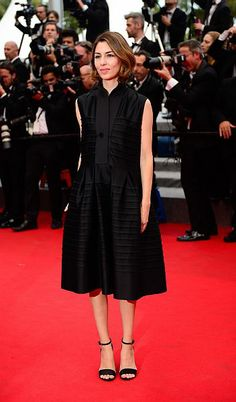 Sofia Coppola in Céline #Cannes2014