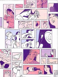 One page in an incredible montage on memories of physical intimacy, from Asterios Polyp, by David Mazzucchelli, 2009