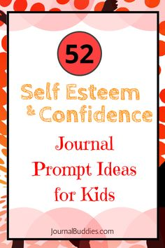 In these 52 new journal prompts, children are encouraged to reflect on the positive aspects of their lives. From identifying their greatest strengths to considering their goals, each journal prompt offers a motivating or inspiring idea for kids to conside Nutrition Education, Journal Prompts For Teens, Journal Ideas, Bible Journal, Journal Notebook, Relation D Aide, Self Esteem Activities, Writing Prompts For Writers, Writing Tips