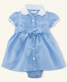 Ralph Lauren Baby Dress...Easter Dress?...Or Halloween with some red glittery shoes! ;)