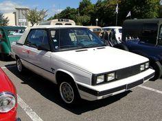 renault alliance 1,7l cabriolet 1985 1987 a