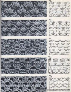 3 Simple Afghan Crochet Patterns Remain the Best ChoiceView album on Yandex. Crochet Stitches Chart, Crochet Diagram, Afghan Crochet Patterns, Crochet Motif, Knitting Stitches, Crochet Lace, Russian Crochet, Crochet Girls, Crochet Instructions