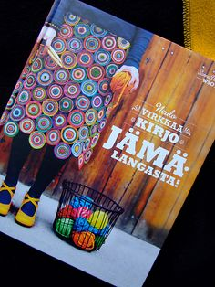 crochet or knitted not sure but looks like a fabulous book...From Finland, wonder if it is printed in English at all?