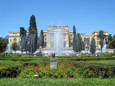 Museu Paulista, History Museum, University of Sao Paulo, Brazil,