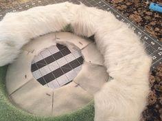 faux fur wreath_outside wrap
