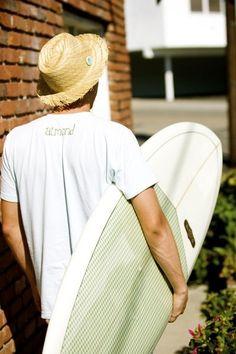 boy with a board: