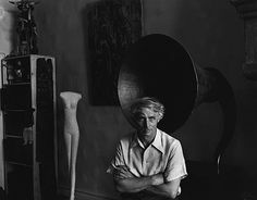 Max Ernst, New York, 1942 by Arnold Newman