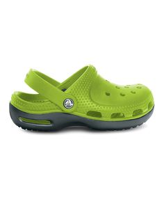 c3e082aee Crocs Parrot Green   Graphite Duet Plus Clog