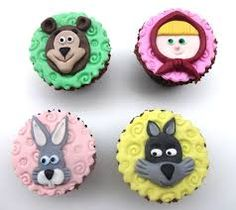 Resultado de imagem para cupcake masha e o urso