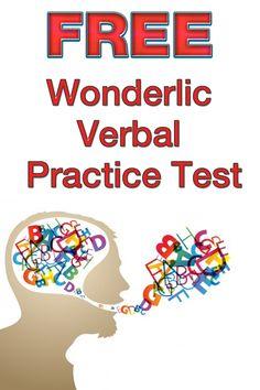Wonderlic Verbal Practice Test Updated 2019