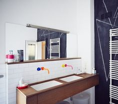 It's Time to Bring Color Back in the Bathroom.