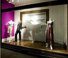 Banana Republicby Minki Balinki Visual Merchandising and Window Displays