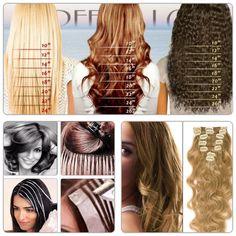 Hair extensions Fashion Hair, Hair extensions, Hair products, hairstyles for long hair, hair clips, hair styles, brazilian hair, clip-in hair extensions, human hair extensions, human hair wigs