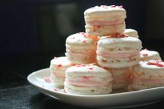 Macarons au Fluff Fraise