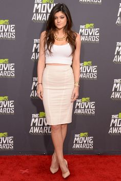 Kylie Jenner at the 2013 MTV Movie Awards