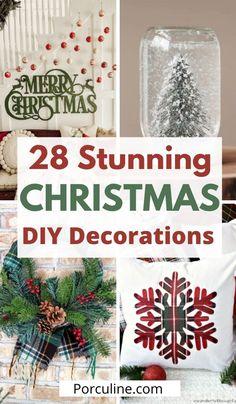 Diy Christmas Room, Hobby Lobby Christmas, Diy Christmas Decorations Easy, Christmas Hacks, Christmas Store, Diy Christmas Ornaments, All Things Christmas, Holiday Crafts, Homemade Christmas Crafts