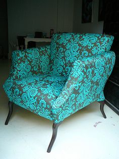 armchair of afra by atolye afra, via Flickr
