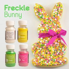 Create your own sprinkle colour combination with Roberts Sprinkles & Pearls.