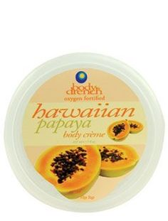 Body Drench Hawaiian Papaya Body Creme 7 Oz by Body Drench. $9.94. Providing skin with the moisture it craves. Heavy crème base that absorbs immediately into skin.