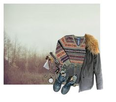 """""""What's Left behind"""" by sleepyboy ❤ liked on Polyvore featuring Ralph Lauren, Urban Renewal, 3:10, Yves Salomon, Dr. Martens and Dollydagger"""