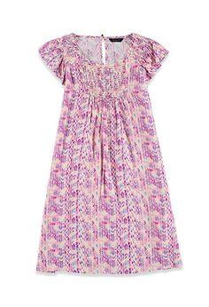 Tribal Print Babydoll Dress (Kids) | Forever 21 girls - 2002246644