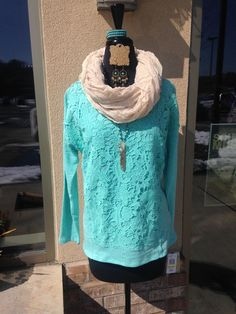 Brrrrr it's chilly out there but Holly is looking good in her Mainstream Boutique attire!!