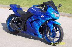 2009 Kawasaki Ninja 250R Custom paint