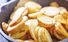 aardappelschijfjes wel krokant