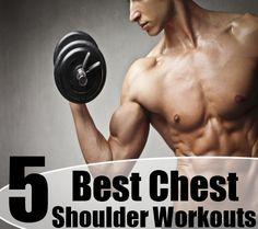 5 Best Chest Shoulder Workouts