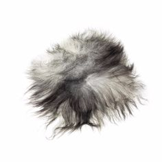 The Organic Sheep Icelandic Sheepskin Longhaired Chair Pad Natural Grey - Trouva